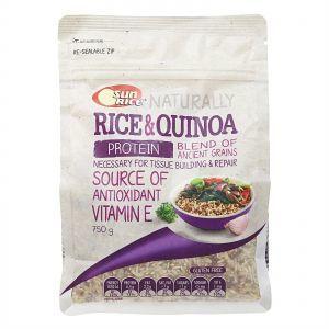 Sunrice Rice & Quinoa Brown Rice Gluten Free 750g