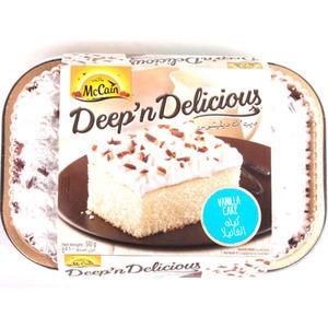 McCain Vanilla Cake 510g