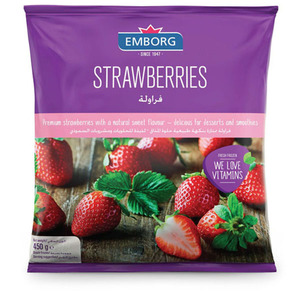 Emborg Strawberries 450g
