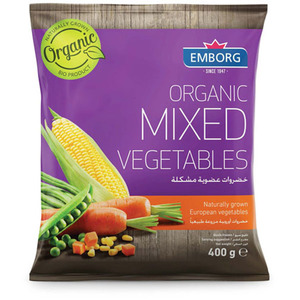 Emborg Organic Mixed Vegetables 400g