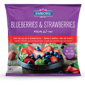 Emborg Blueberries & Strawberries 400g