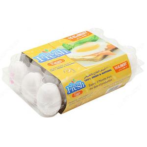Farm Fresh White Eggs Family 15pcs