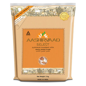 Aashirvaad Select Superior Sharbati Atta Whole Wheat Flour 5kg