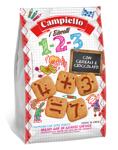 Campiello Chocolate & Cereal Biscuit 300g