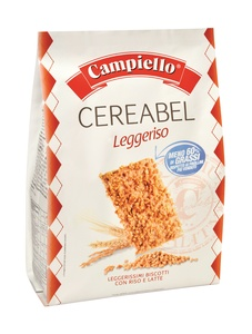 Campiello Caramelized Puffed Rice Biscuit 350g