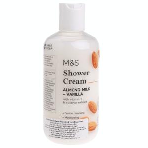 Shower Cream Almond Milk & Vanilla 250ml