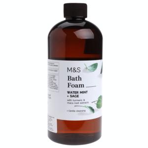 Water Mint & Sage Bath Foam 500ml