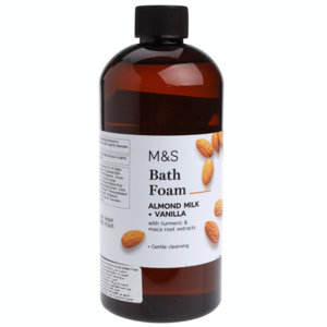 Almond Milk & Vanilla Bath Foam 500ml