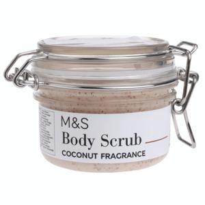 Coconut Fragrance Body Scrub 100g