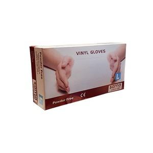 Vinyl Powder-Free Gloves Large 100pcs