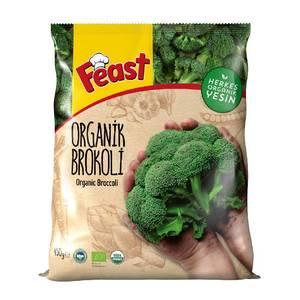 Frozen Organic Broccoli (Dondurulmus Organik Brokoli) 450g