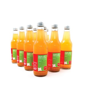 Jones Organic Apple With A Twist Of Lime 12x330ml