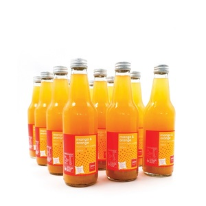 Jones Organic Mango & Orange 12x330ml