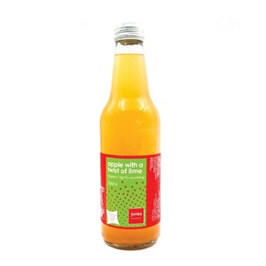 Jones Organic Apple & Lime 340ml