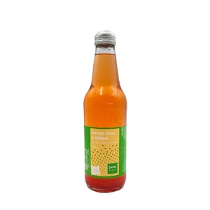 Jones Organic Lime Lemon 340ml