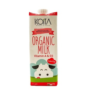 Koita Organic Low-Fat Milk 1L
