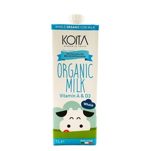 Koita Organic Whole Milk 1L