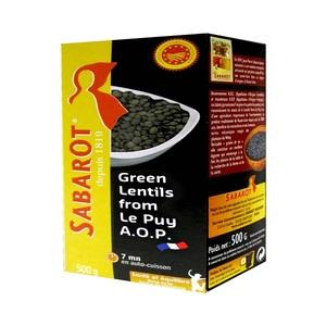 Sabarot Green Lentils Du Puy 500g