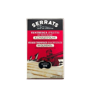 Serrats White Tuna Belly In Oil Tin 115g