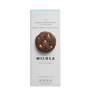 Double Chocolate And Banana Cookies 1pack