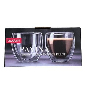 Bodum Pavina Double Wall Glass 0.08L - 2pcs