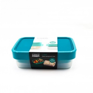 Joseph Joseph Go Eat Salad Box Teal 1pc