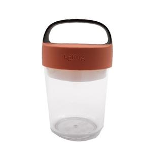 Lekue Jar To-Go Coral 400ml