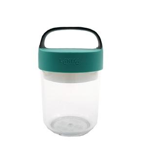 Lekue Jar To-Go Turquoise 400ml