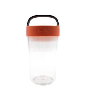 Lekue Jar To-Go Coral 600ml