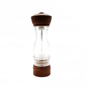 Cole & Mason Keswick Salt Mill Walnut/Acrylic 18cm