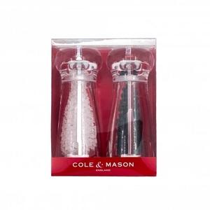 Cole & Mason Lancing S&P Mill Set Acrylic 14cm
