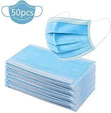 Face Mask 3Ply 50s