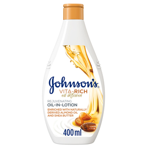 Johnson's Vita-Rich Rejuvenating Oil in Body Lotion 400ml