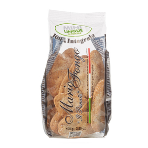 Il Panate Mario Fongo Whole Wheat Mini Lingua Cracker 100g