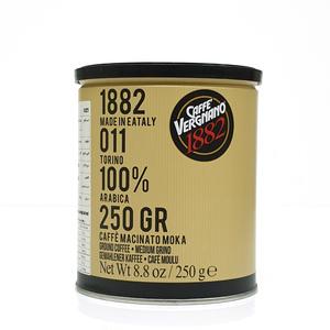 Vergnano Moka Ground Coffee 100% Arabica 250g
