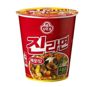 Jin Ramyeon Spicy Cup 65g