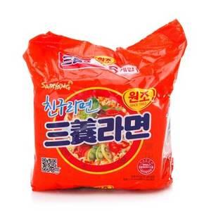 Samyang Ramyeon Instant Noodles 5x120g