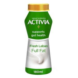 Activia Fresh Full Fat Laban 180ml