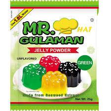 Mr.Gulaman Jelly Green 25g