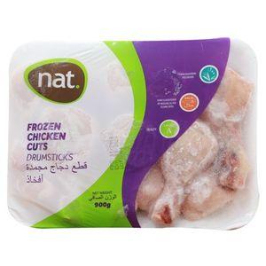 Nat Frozen Chicken Drumstick 900g