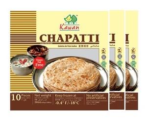 Kawan Chapati 3x400g