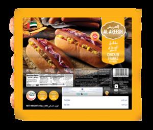 Al Areesh Chicken Franks 400g
