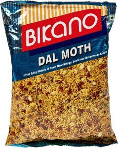 Bikano Namkeens Dal Moth 3x200g
