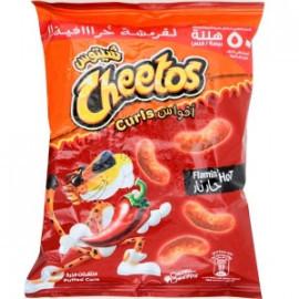Cheetos Curls Flamin Hot 16g