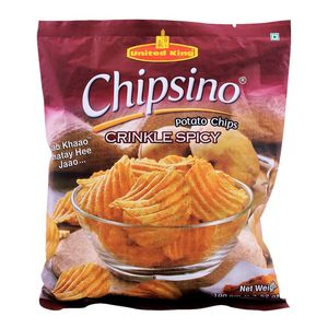 King George Potato Wafers Spicy 100g