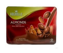 Vochelle Almond Choco Tin 380g