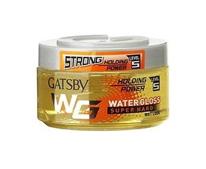 Gatsby Yellow Super Hard Water Gloss 150g