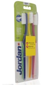 Jordan Tooth Brush Classic Soft 3pack