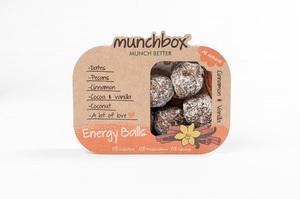 Energy Balls Cinnamon & Vanilla 10 snacks