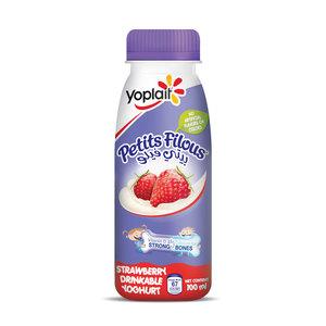 Yoplait Petit Filous Strawberry Drink 4x100ml